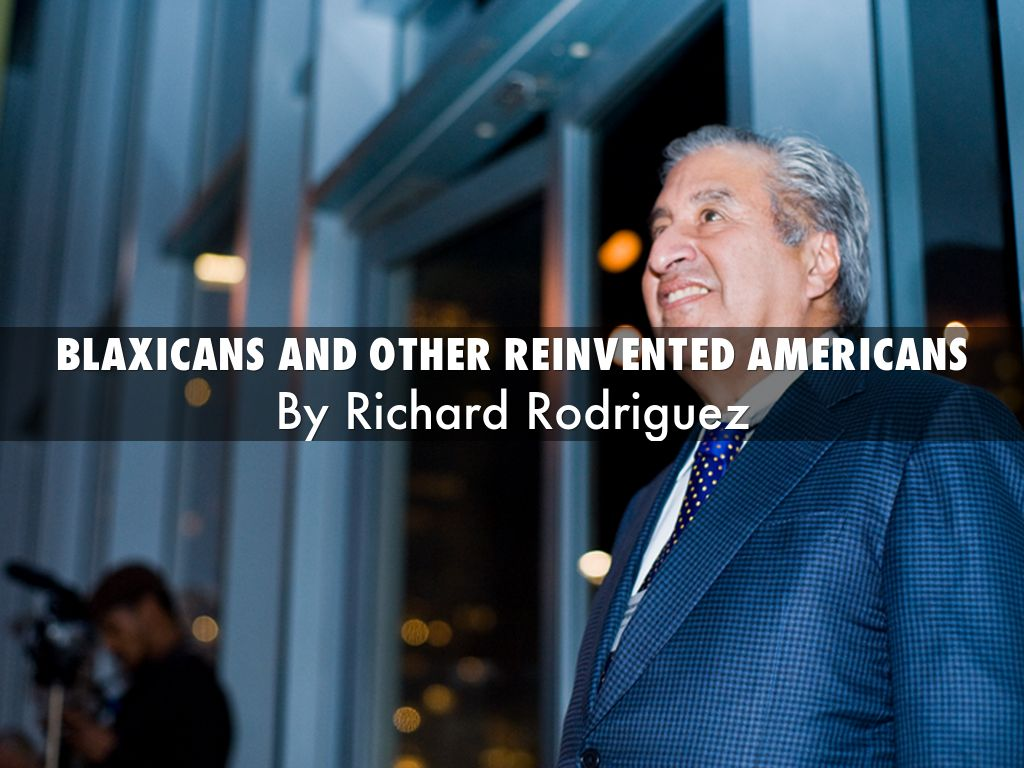 """Blaxicans"" and Other Reinvented Americans Essay Sample"