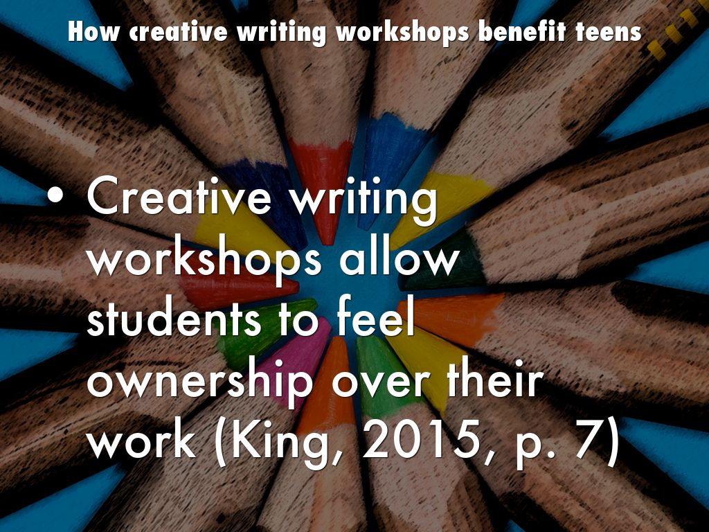 creative writing workshops Creative writing workshops for kids 57 likes live in austin got a kid who likes to write check out these creative writing workshops, led by.