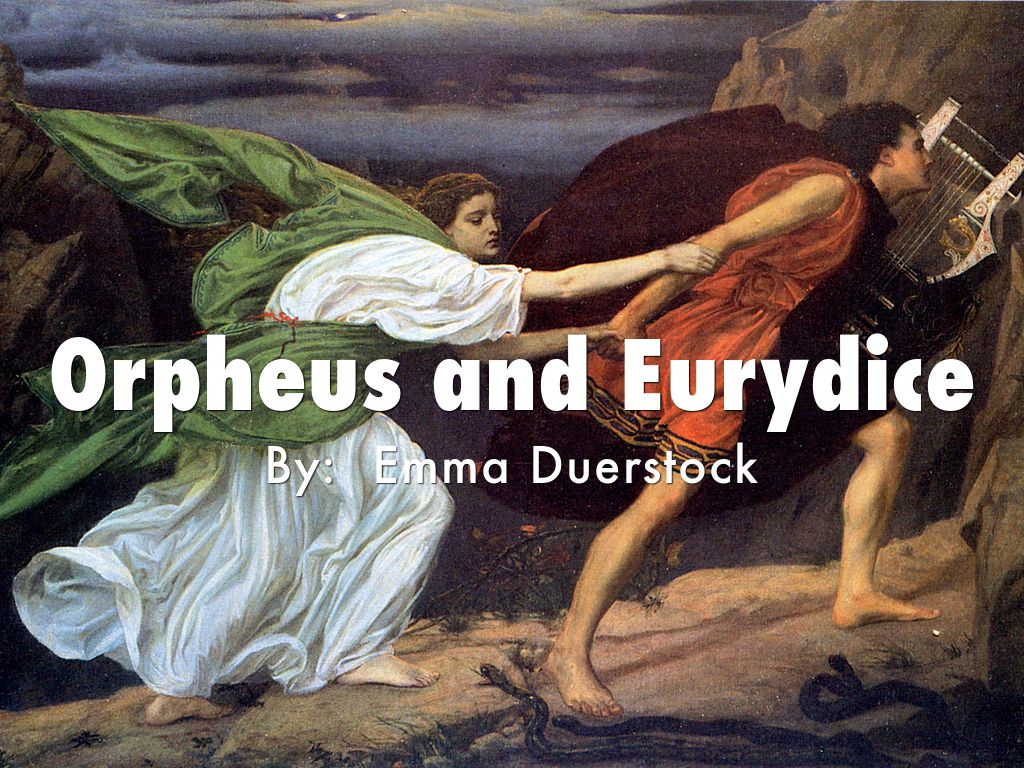 orpheus and eurydice summary