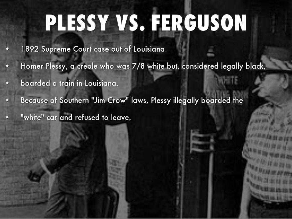ferguson summary