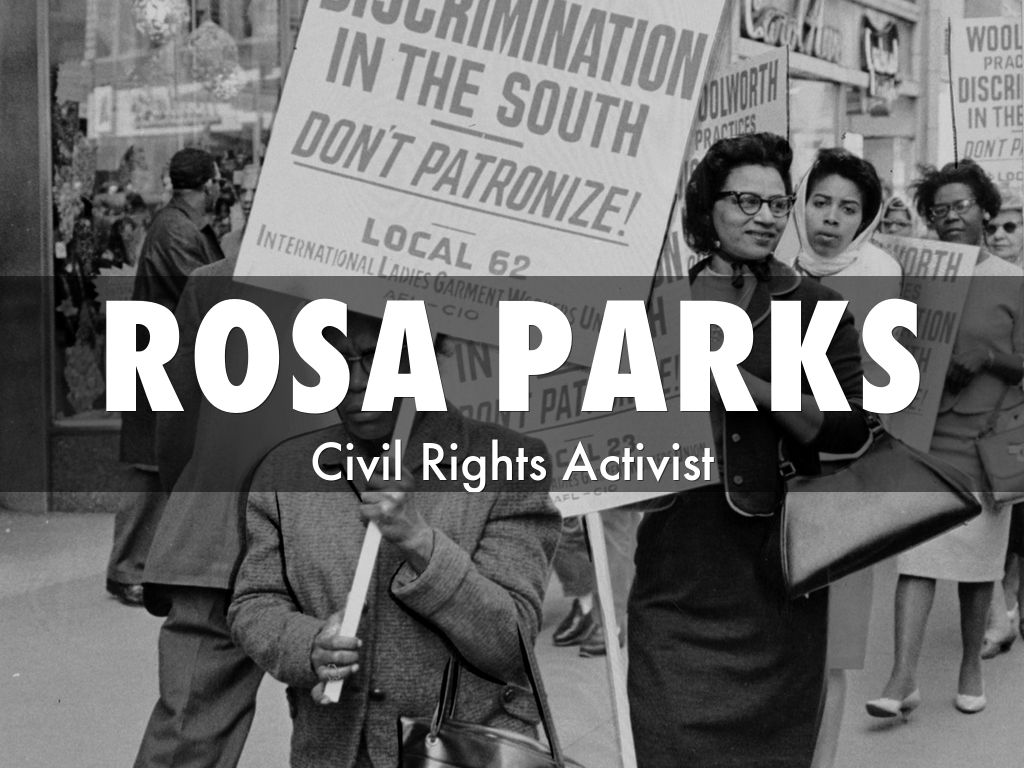 rosa parks outline An affluent society, 1953-1960 chapter study outline [introduction: the nixon-khrushchev kitchen debates] the golden age after the war, the american economy enjoyed remarkable growth  rosa parks bus boycott the daybreak of freedom the montgomery bus boycott marked a turning point in postwar american history.