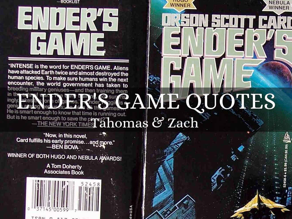 Ender's game Quotes
