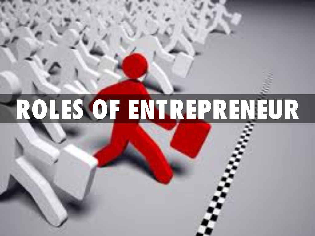 role of entrepreneurship Entrepreneurs operate largely at the local level, and regions are strengthened when entrepreneurs connect with one another programs created to help entrepreneurs should facilitate network formation, peer learning, and mentorships.