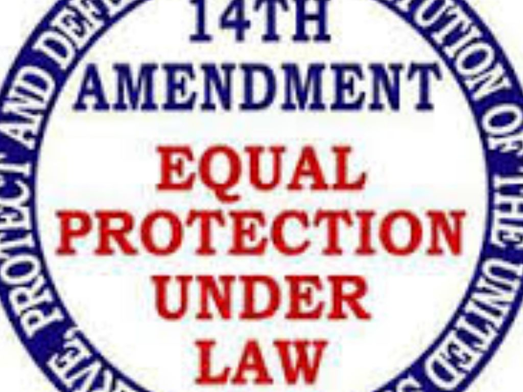 fourteen amendment The fourteenth amendment (amendment xiv) to the united states constitution was adopted on july 9, 1868 it was one of the reconstruction amendments the amendment discusses citizenship rights and equal protection of the laws.