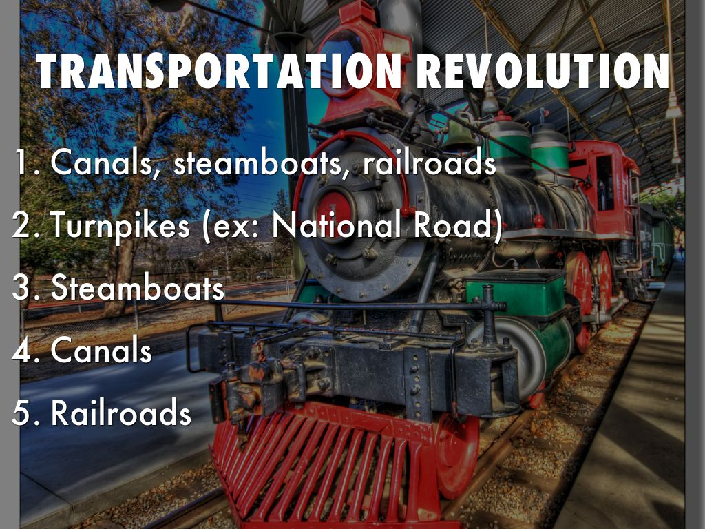 transport revolution 1 the transport revolution in industrializing britain: a survey dan bogart department of economics, uc irvine dbogart@uciedu abstract between 1700 and 1870 britain's transport sector improved dramatically.