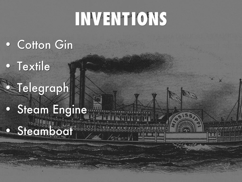 inventions during the industrial revolution I'd suggest you start with wikipedia's industrial revolution article, which amongst  other technologies lists the invention of:  newcomen-watt steam engine.