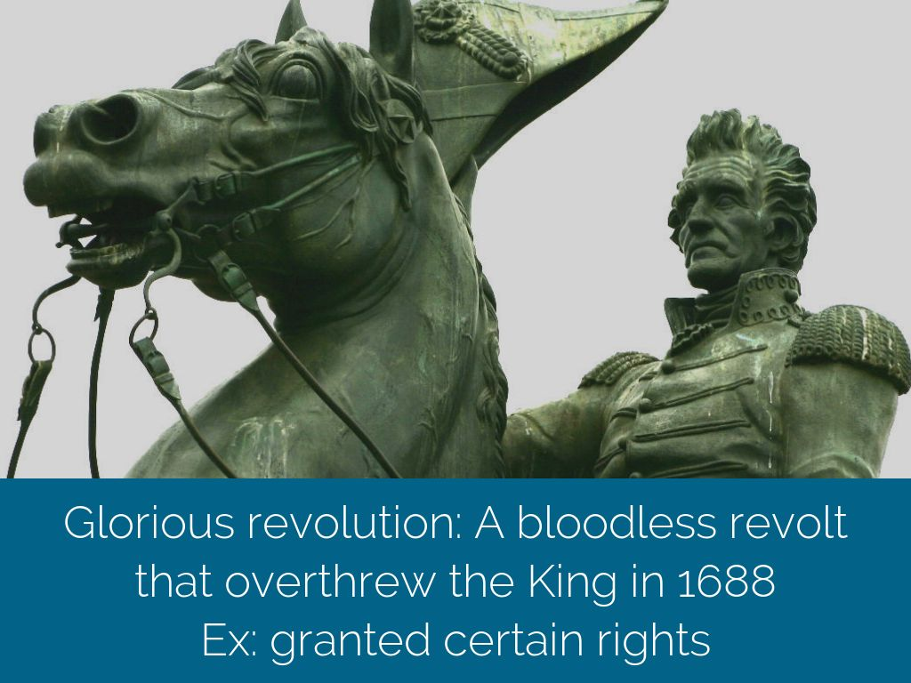 a flashback of the glorious revolution bloodless revolution