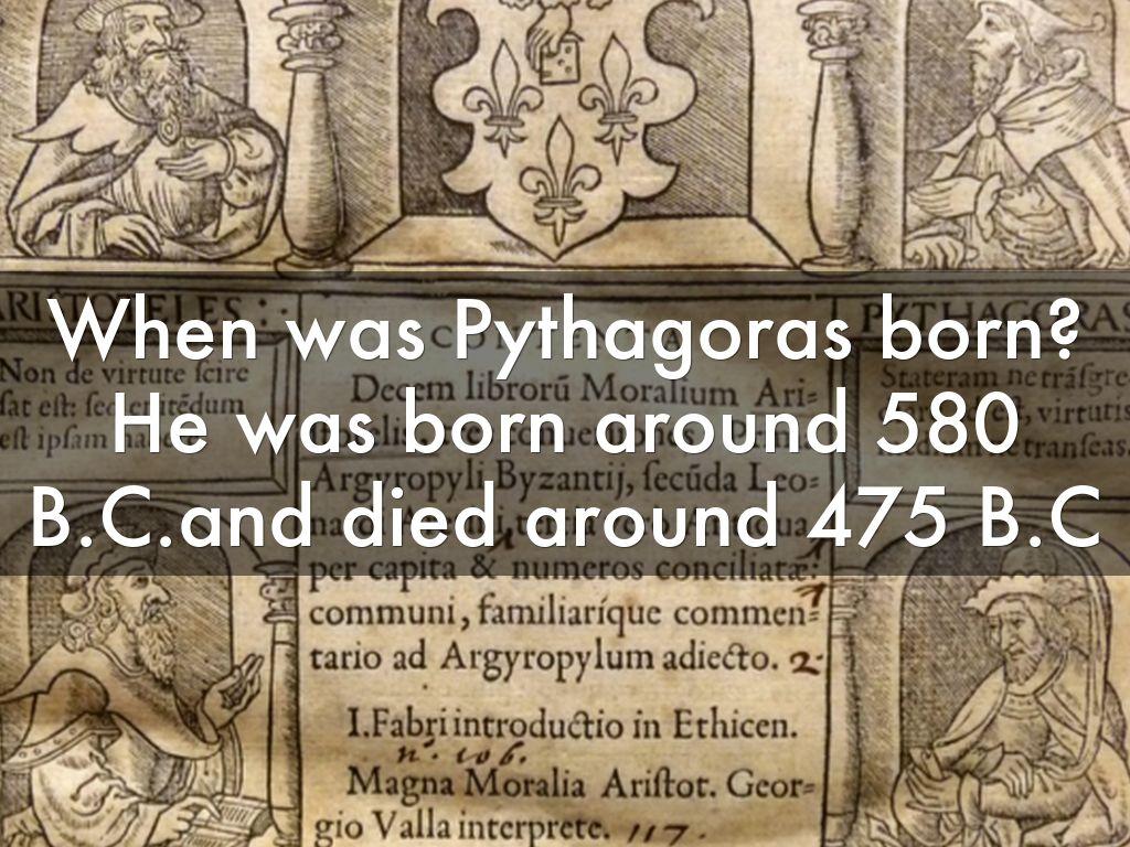 pythagoras of samos biography pdf