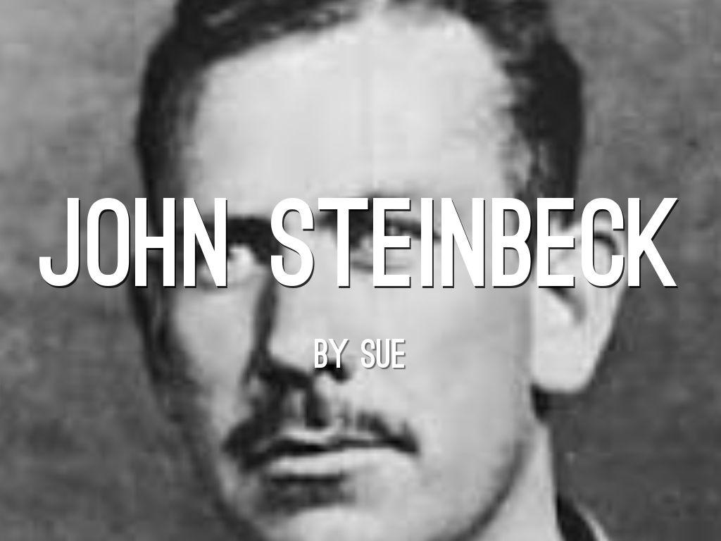 John Steinbeck by sue coryea
