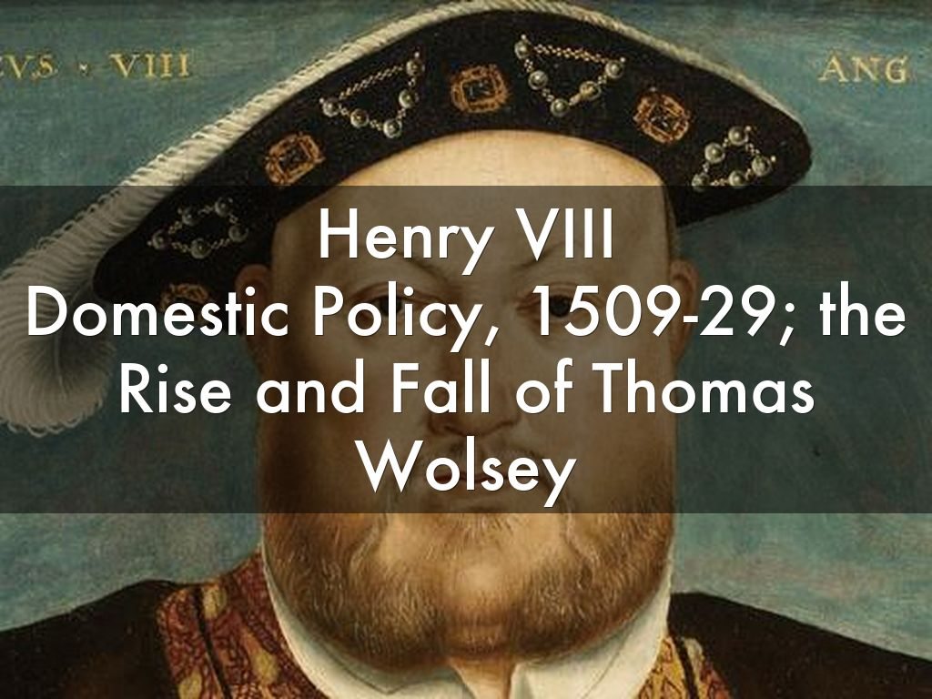 the revolutionary policies of henry viii Henry viii obviously contributed to the eventual english revolution by breaking away from the catholic church and forming the church of england however, he was no the sole cause several monarchs.