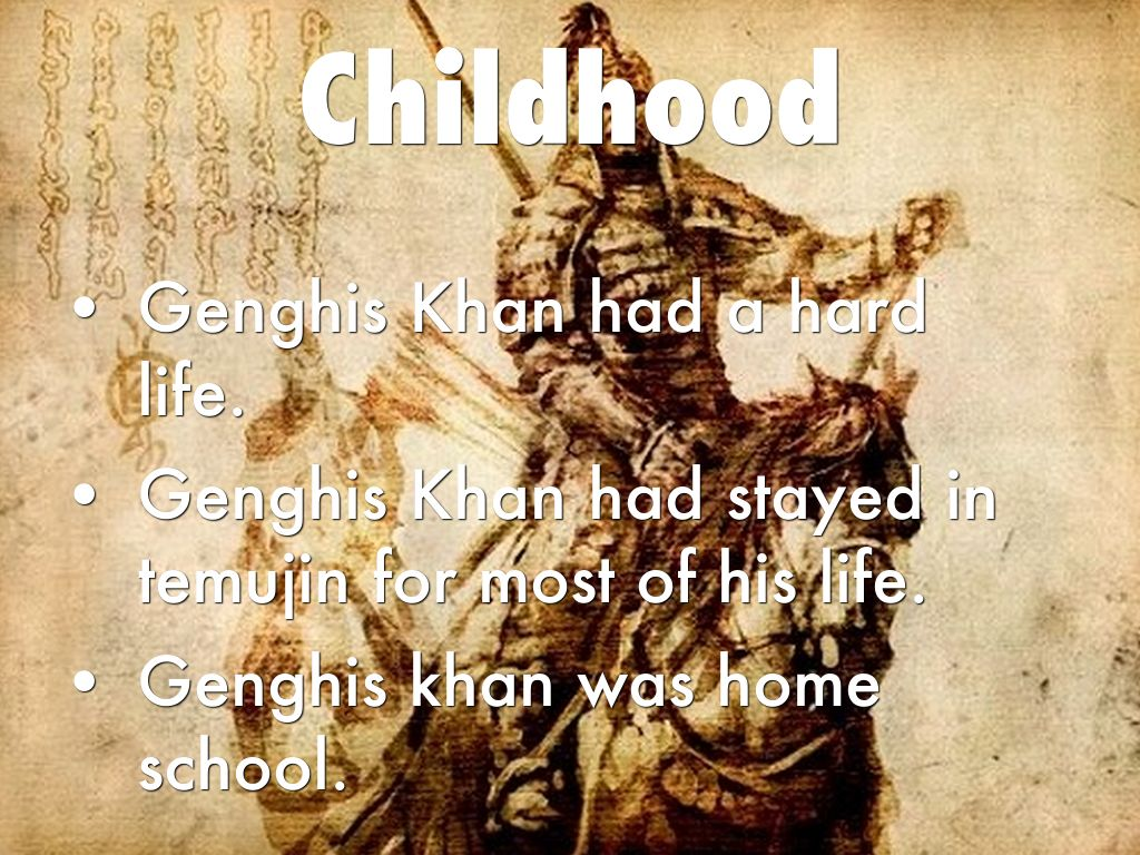 genghis khan were his actions justifiable essay
