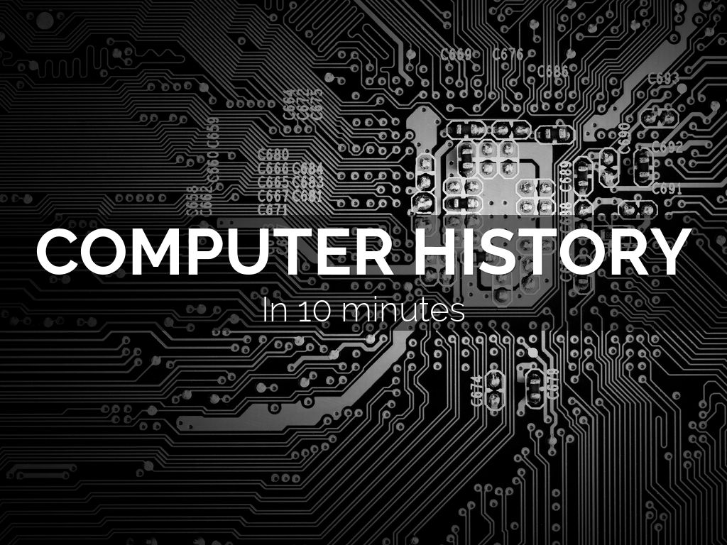 Computer history by Christian Sheehy