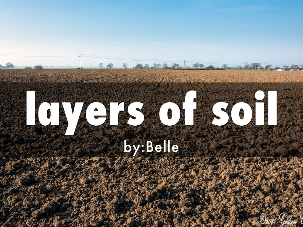 Layers of soil by meghan smits for 6 layers of soil