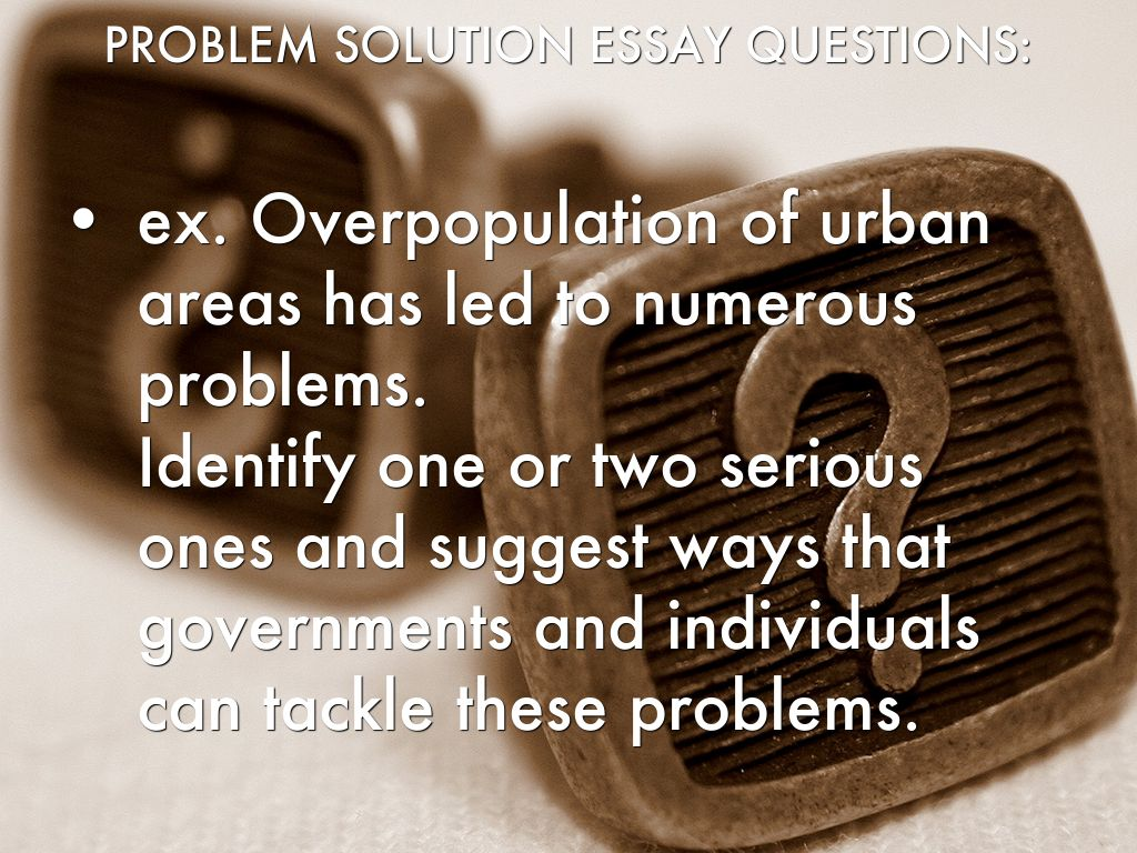 the problem of overpopulation and the solutions