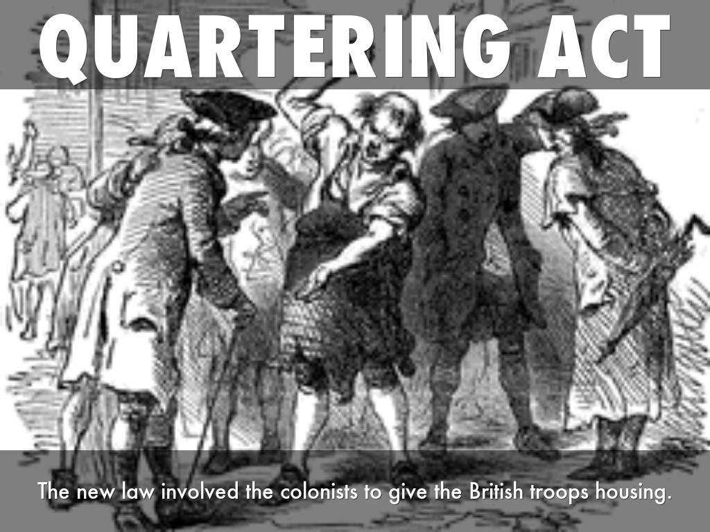 quartering act of 1765 summary The 4 acts that led to the revolutionary war series: the quartering act april 13, 2017 by sarah  the quartering act of 1765 definition, summary and facts from .