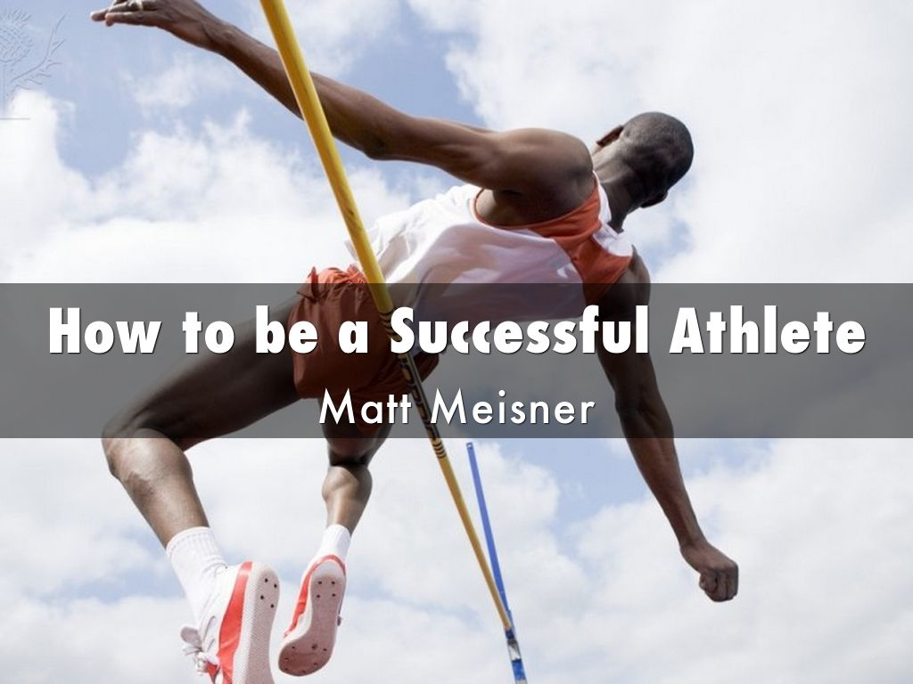 How to Become an Athlete foto