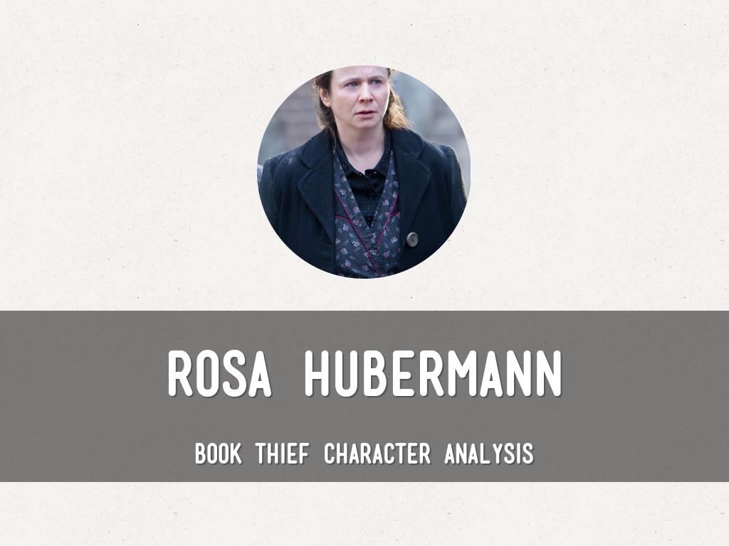 character analysis of the book thief