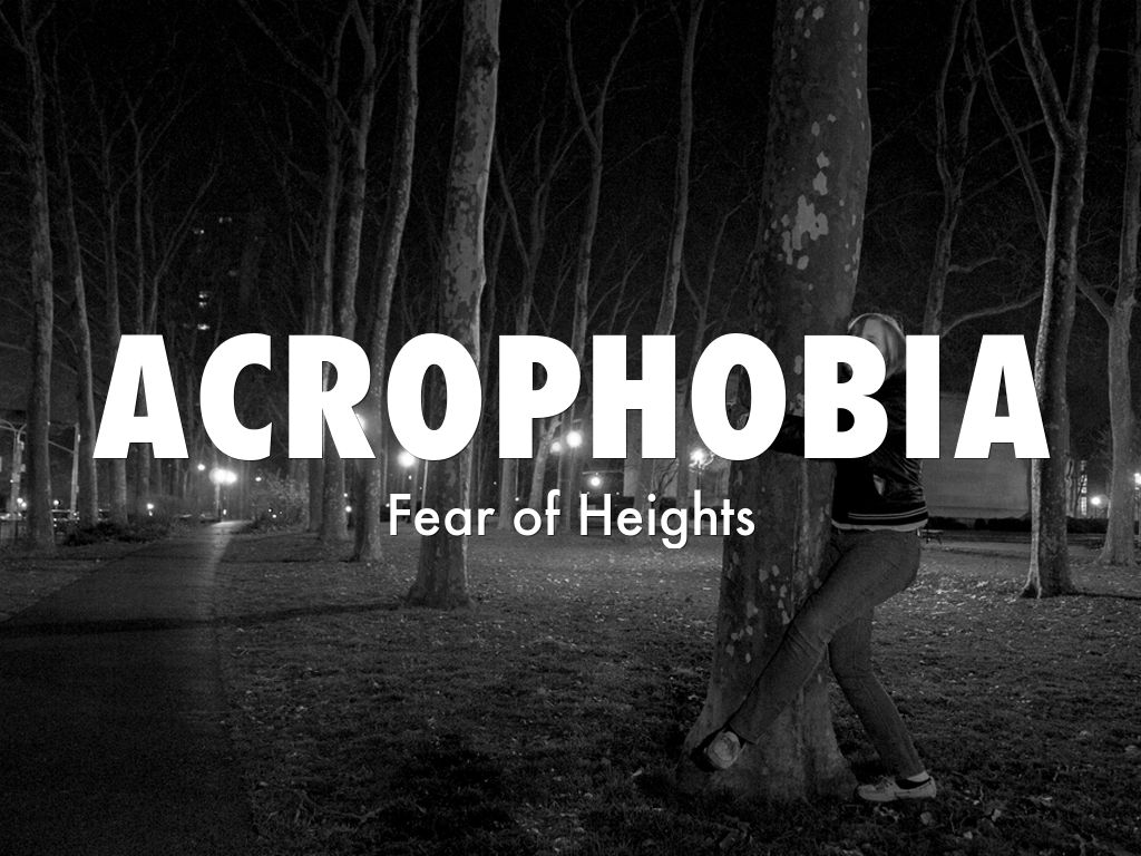 acrophobia fear and heights Acrophobia is the fear of heights learn about the probable causes and therapeutic approaches used in dealing with this phobia.