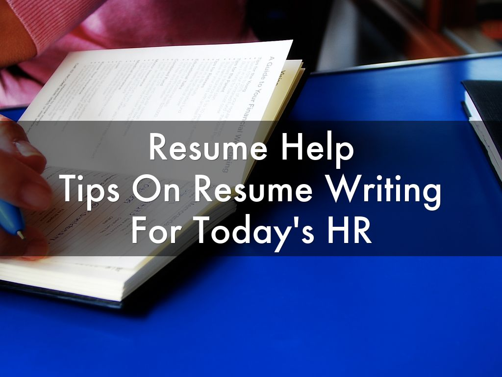 tips on resume writing