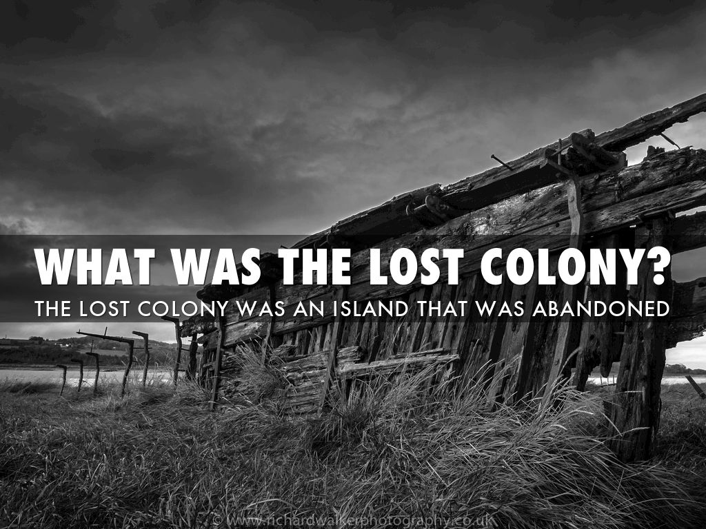 the lost colony of roanoke thesis The lost colony is an incredibly exciting adventure your whole family will love the obx attraction is celebrating its 81st season buy your tickets today.