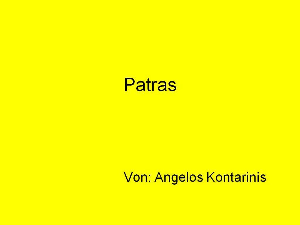 Das ist Patras
