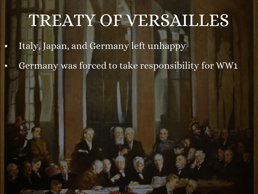 an introduction to the history of the treaty of versailles The terms of the treaty of versailles were announced in june 1919 the german politicians were not consulted about the terms of the treaty they were shown the draft terms in may 1919.