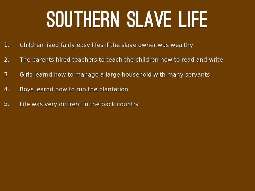 the life of a slave in Daily life as a slave in ancient egypt by georgia skelton slaves were at the bottom of 'the social pyramid' they were not respected they were also not educated.