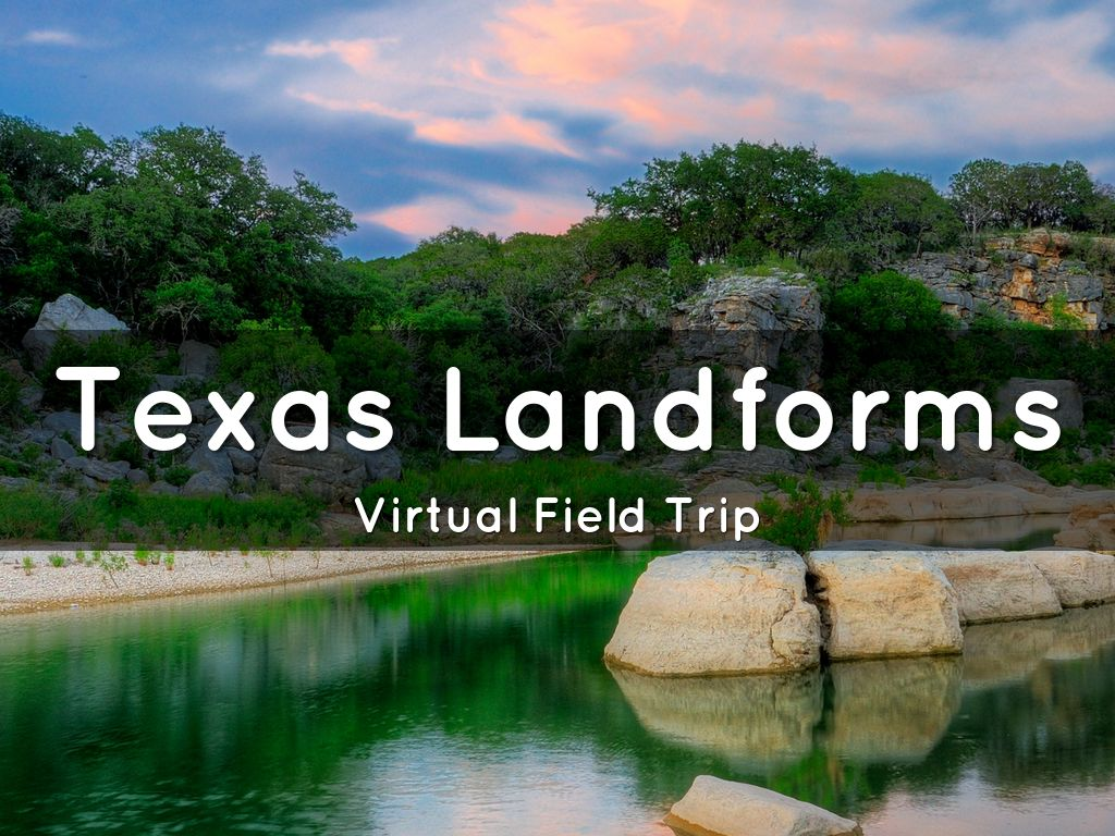 Texas Landforms