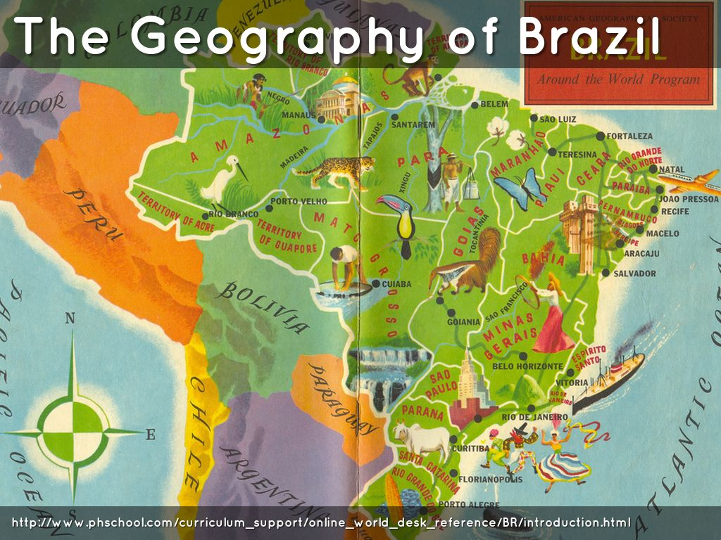 Chapter 6:Section 1 BRAZIL: Geography Shapes a Nation