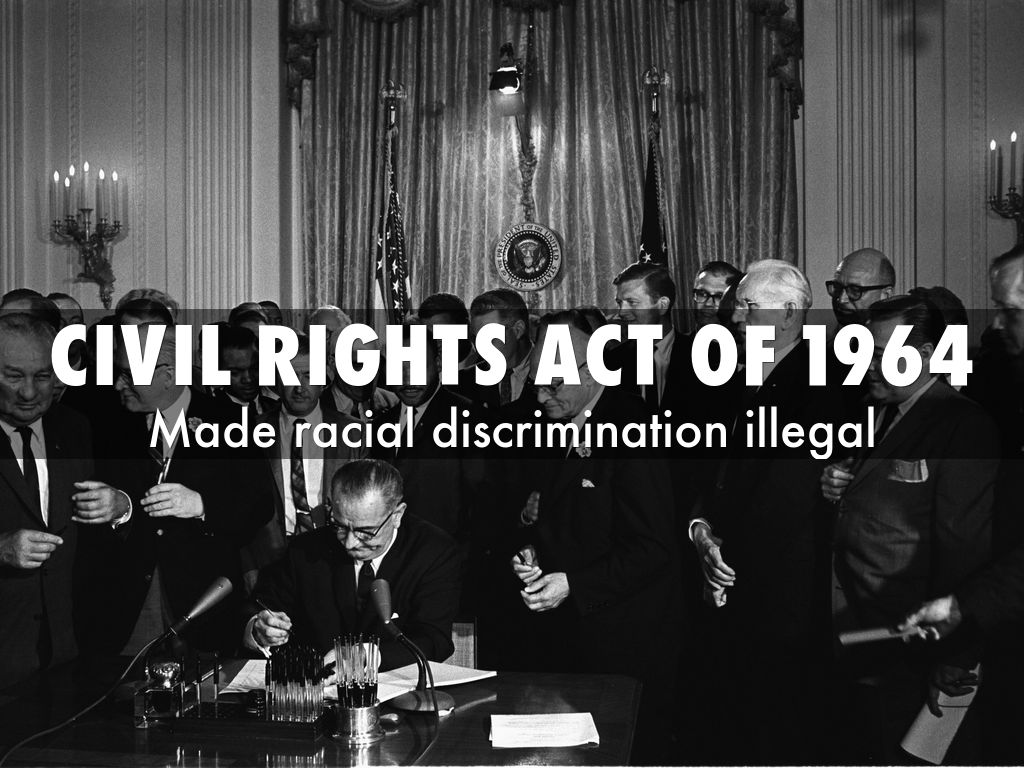 civil rights act 1964 Read cnn's 1964 civil rights act fast facts and learn about the law that prohibits discrimination on the basis of race, color, religion, sex or national origin.