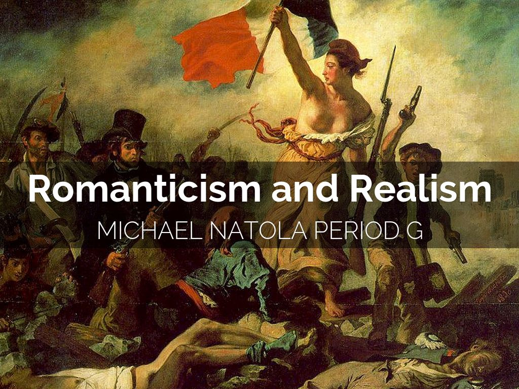 romanticism and realism Realism may be understood as both a style of literature in general and a period of american literature specifically realism as a literary style may be best understood in comparison or contrast with romanticism, or vice versa like romanticism, realism is both a recurring style in literature and the name for a particular period of american.