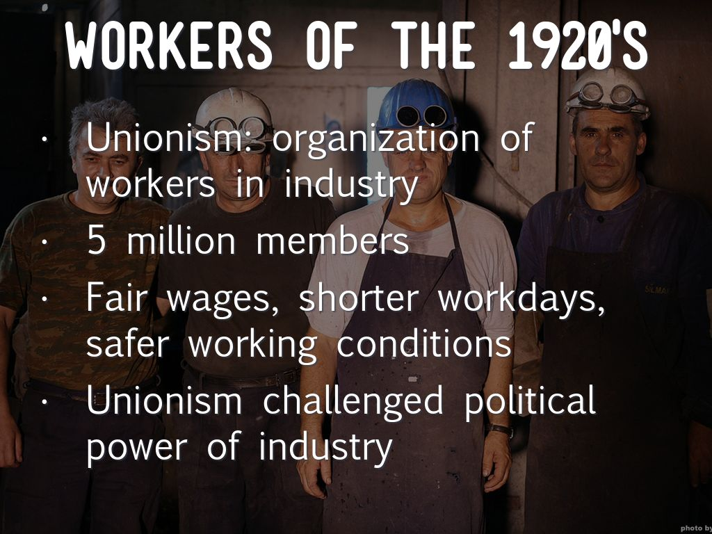 an overview of the labor movement and unionism background and brief history of the shorter workdays