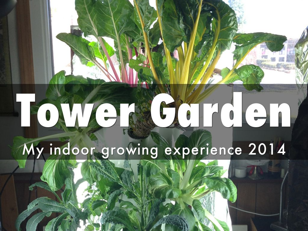 indoor tower garden. Slide Notes Indoor Tower Garden