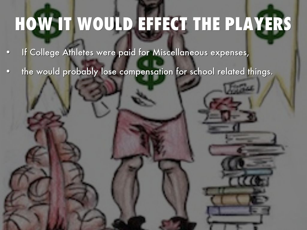 effects of paying college athletes Paying college athletes could have negative effects by k dawson story highlights - usca sid: player pay would bankrupt college athletics - proportional pay for performance a problem, as it could affect potential professional salaries for athletes - schlabach: title ix would not allow unequal pay based on how.