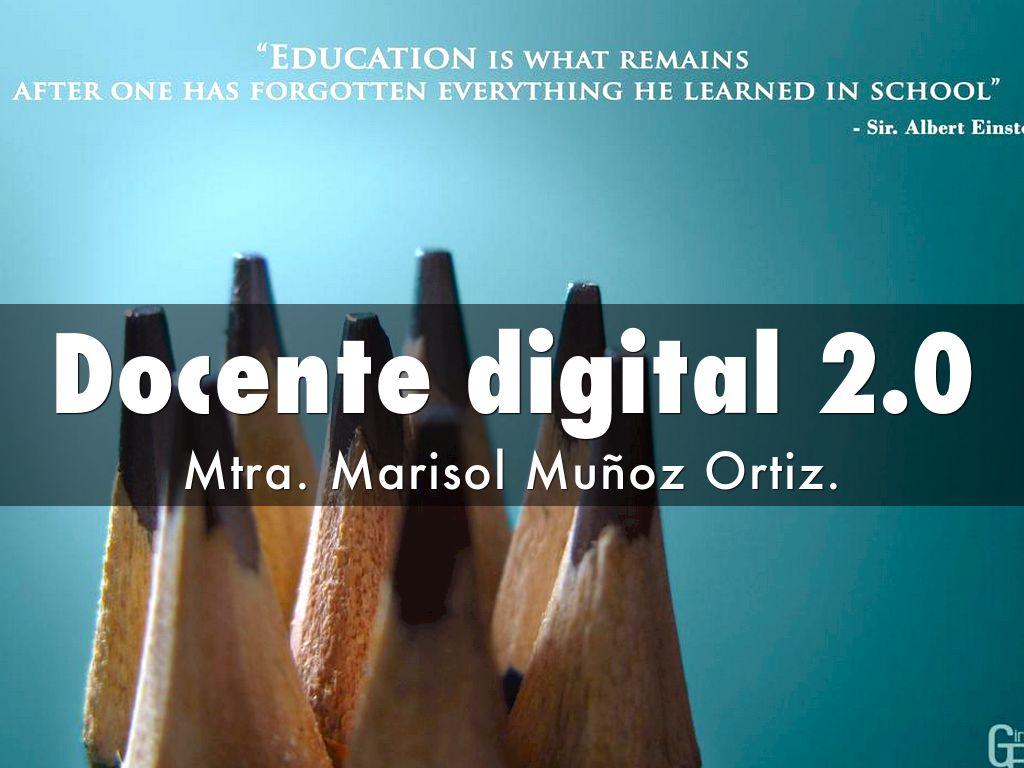 Docente digital 2.0