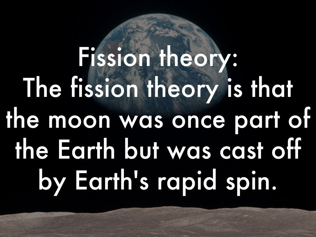 Capture theory | possible explanation of our moon ...