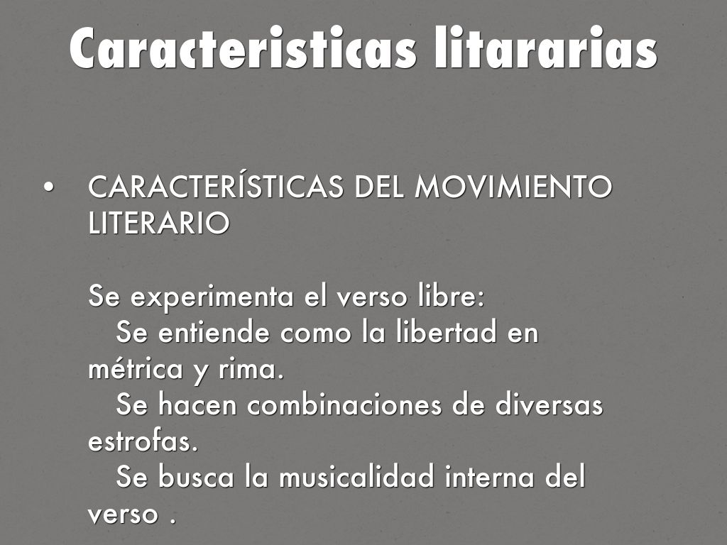 Literatura contempor nea by alexordonez99 for Caracteristicas del contemporaneo