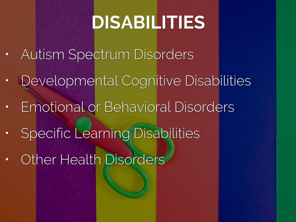 a study on the developmental disability autism Behavior gains possible in adults with autism, study finds by michelle get the latest developmental disability news from disability scoop sent.