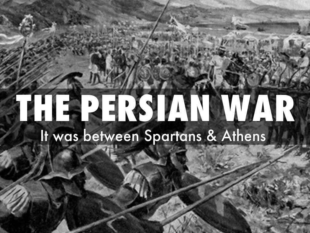 persian wars the division of power between athens and sparta