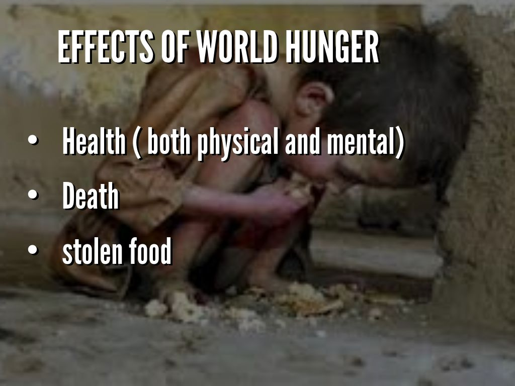 world hunger caused by unemployment First, you correctly state that world hunger is largely caused by politics and poor distribution methods then, you allude to the myth that we don't have enough food world hunger is always going to remain as long as the world population continues to be substantially higher than the amount of food that farmers are able to produce.