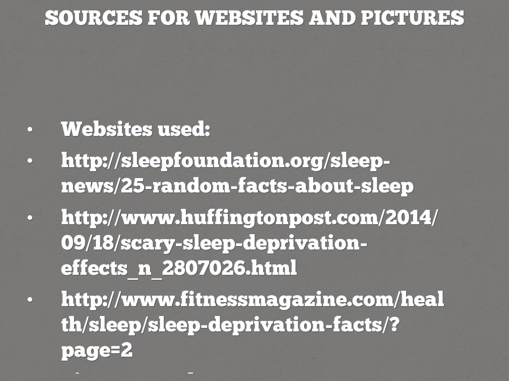 a research paper on sleep and sleep deprivation Some sleep deprivation research paper help getting to sleep at night how get a good night sleep and sleeping pills may help temporarily but usually do not fix the.