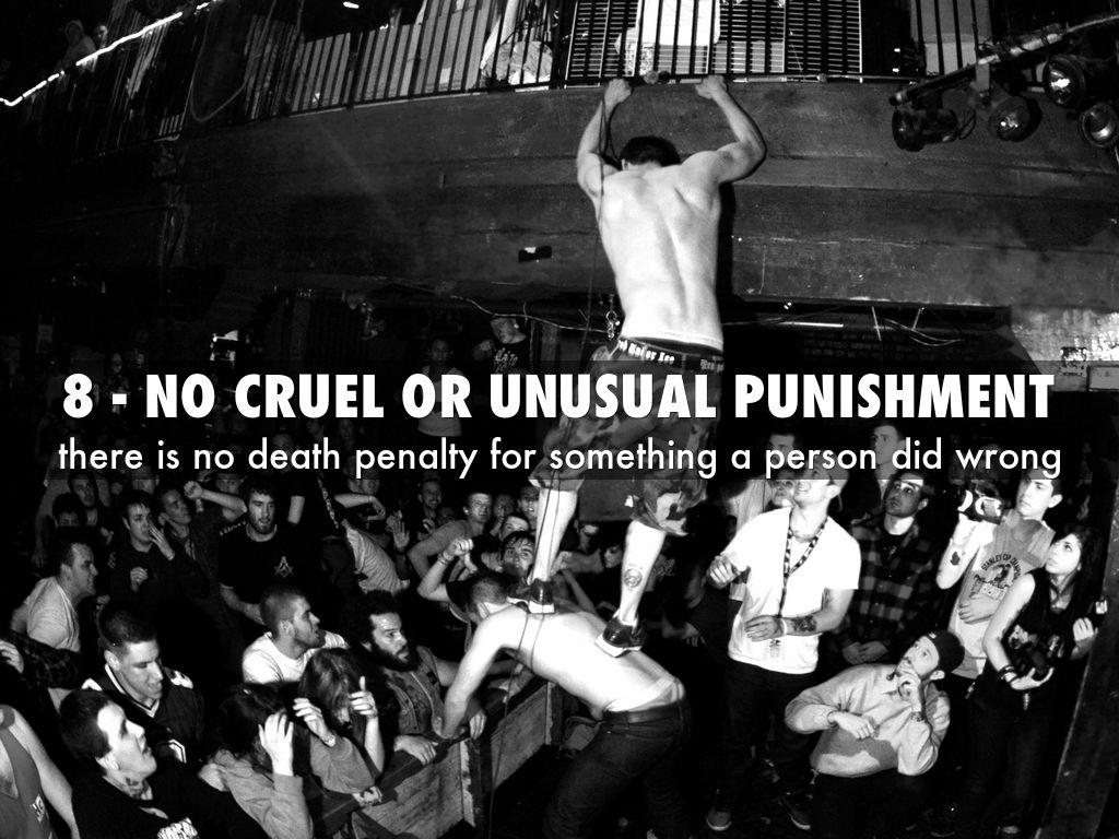death penalty cruel and unusual punishment