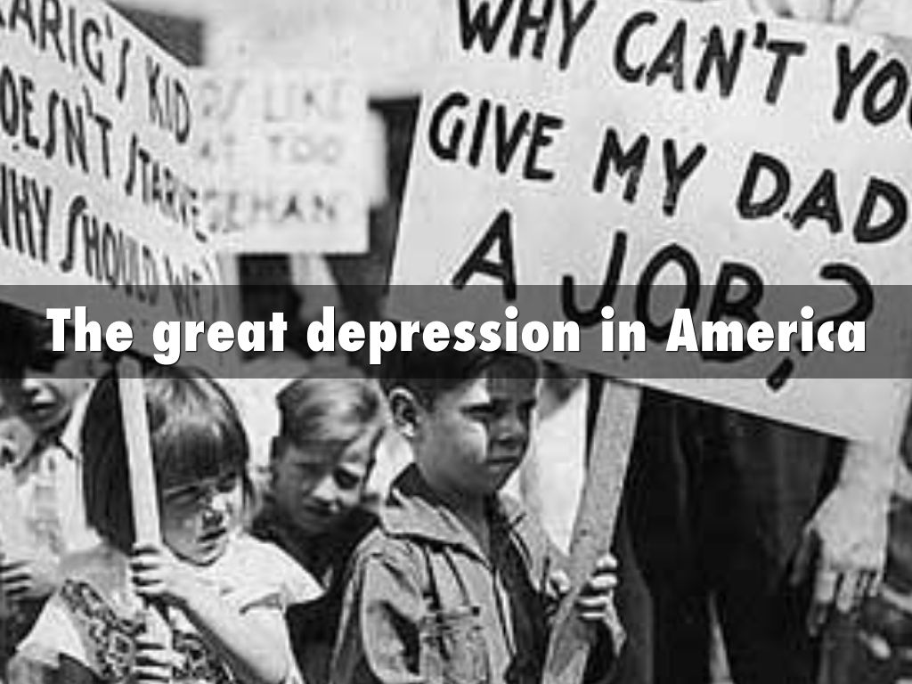 a history of the great depression in united states of america Every major country, including the united states, abandoned the gold standard during the great depression in fact, leaving the gold standard was a predictor of a country's economic severity and the length of time for its recovery.