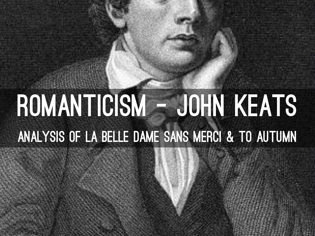 analysis of keats to autumn
