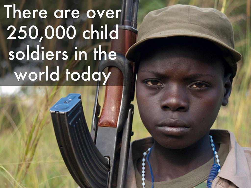 Child Soldiers in Africa by jdietz333