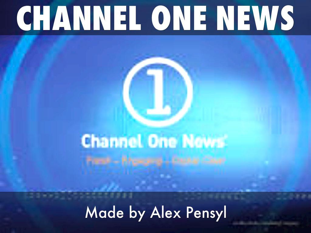 channel one news by alex pensyl