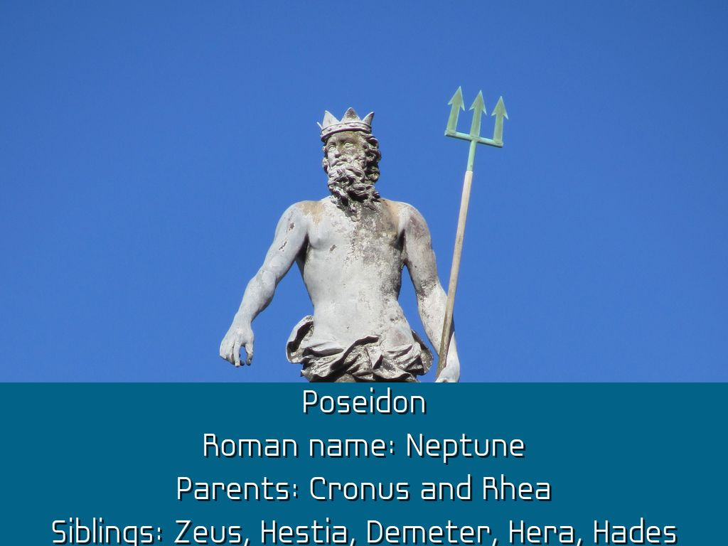 greek gods by danny sullivan