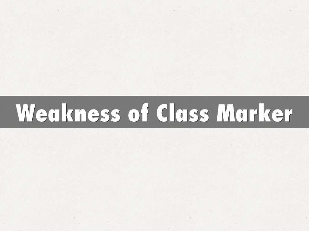 CLASS MARKER by mkalawe