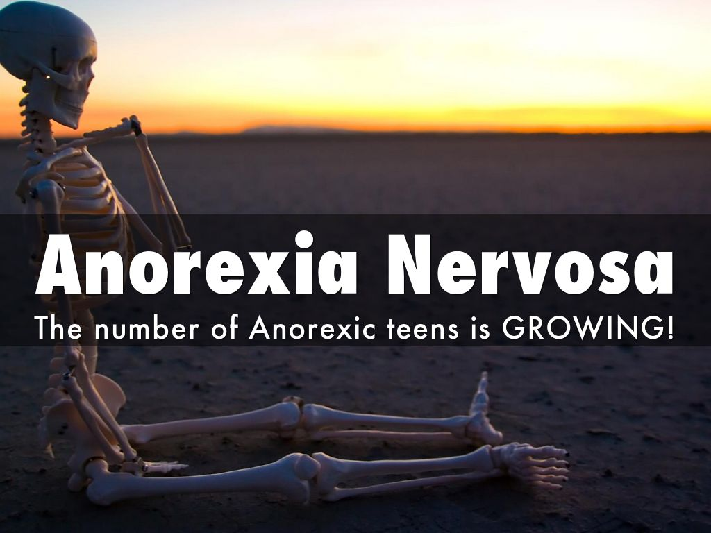 a research on the growing issue of anorexia on teenagers