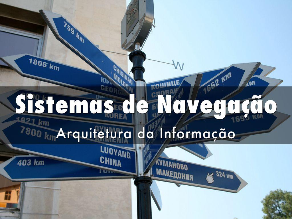 Sistemas de Navegação